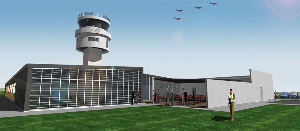 Hames Sharley Projects | RAAF East Sale Air Traffic Control Tower