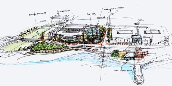 Geraldton Foreshore Redevelopment. Urban Development.