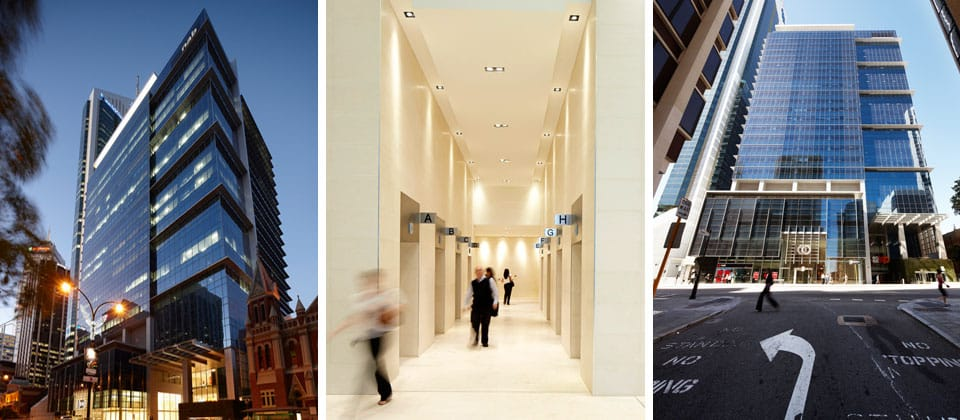 100 st georges terrace hames sharley office industrial