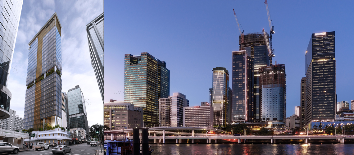 320 George Street, Brisbane - A Workplace project for Lionmar Holdings Pty Ltd by Hames Sharley