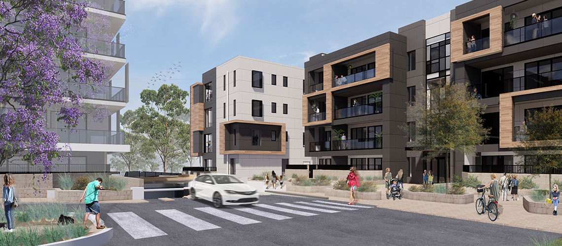 Glenside Grace Apartments, Glenside, South Australia - A Residential project for Cedar Woods by Hames Sharley