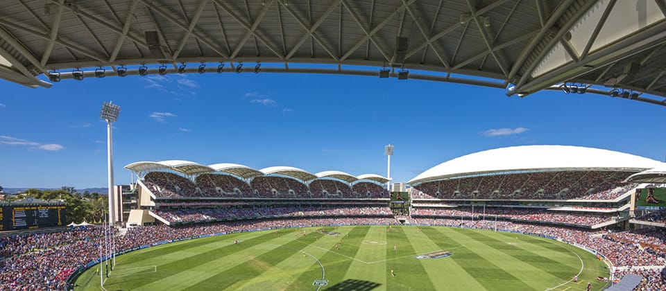 Adelaide Oval Redevelopment, Adelaide, South Australia - A Sport & Recreation project for The Stadium Management Authority by Hames Sharley