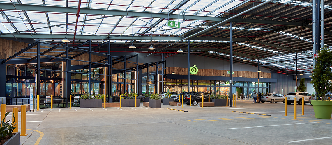 Fishermans Bend, Fishermans Bend, Victoria - A Retail & Town Centres project for Woolworths by Hames Sharley