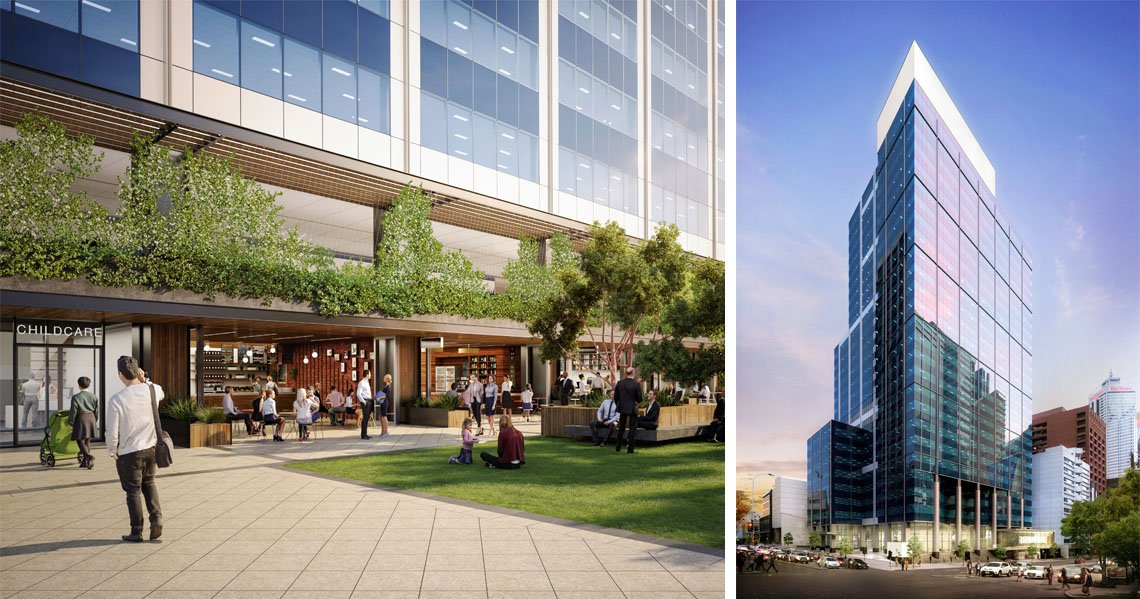 | 240 St Georges Terrace, Perth, Western Australia - A Office & Industrial project for DEXUS Property Group by Hames Sharley