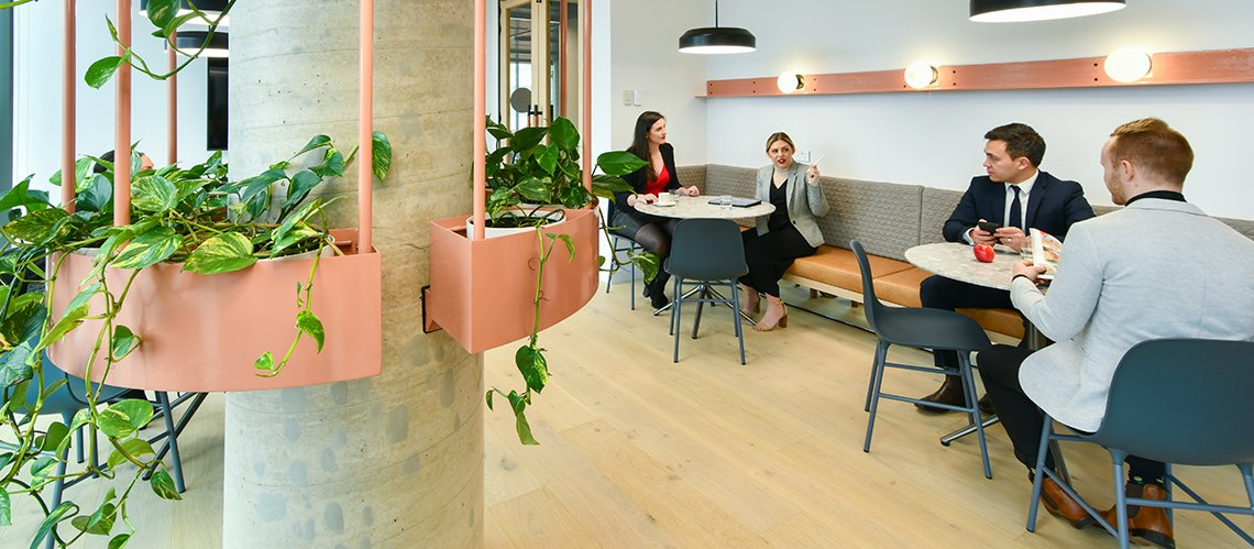 Finlaysons Workplace Strategy and Design, Adelaide, South Australia  - A Workplace project for Finlaysons Lawyers by Hames Sharley