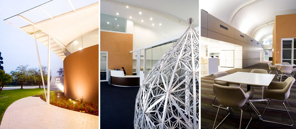 Alcoa Peel Regional Office, Pinjarra, Western Australia - A Office & Industrial project for Alcoa by Hames Sharley