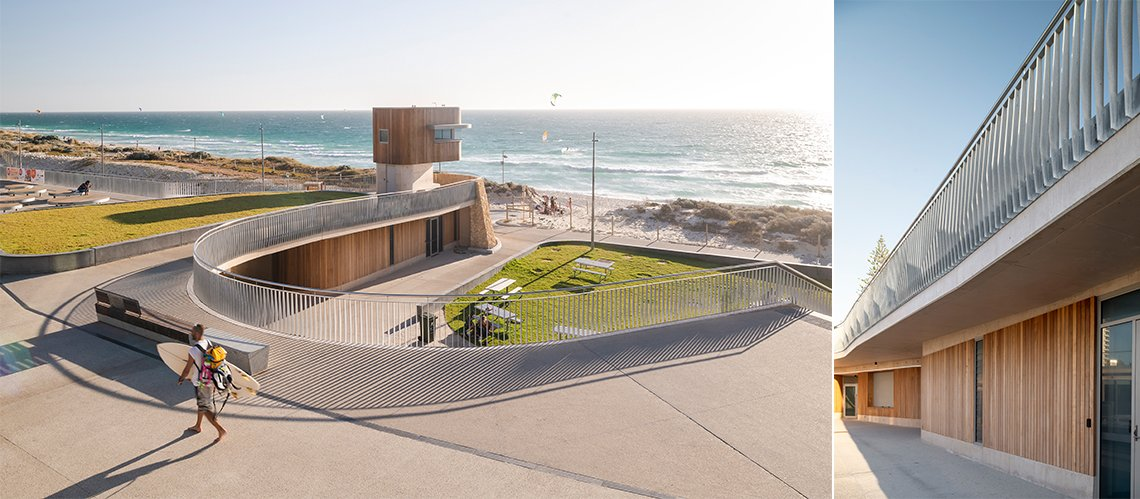Scarborough Beach Services & Surf Club, Scarborough Beach, Western Australia - A Sport & Recreation project for Metropolitan Redevelopment Authority / City of Stirling / Scarboro SLSC by Hames Sharley