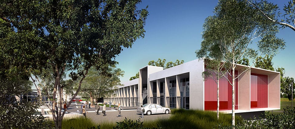 Applecross Senior High School, Applecross, Western Australia - A Tertiary Education, Science & Research project for Building Management and Works  by Hames Sharley