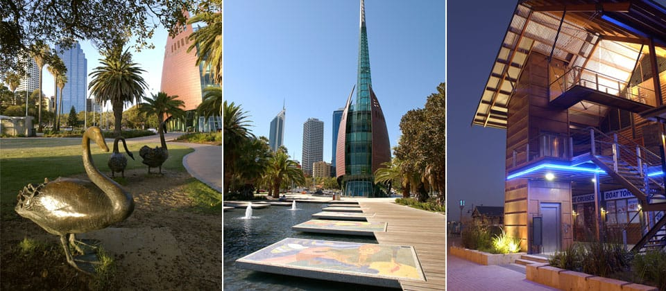 Barrack Square Redevelopment and Swan Bells, Perth, Western Australia - A Urban Development project for Western Australian Government by Hames Sharley