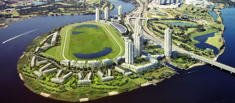 Belmont Park Racecourse Development, Belmont, Western Australia - A Residential project for Golden River Developments by Hames Sharley