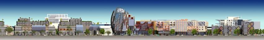 Bentley Technology Precinct elevations. Urban Development