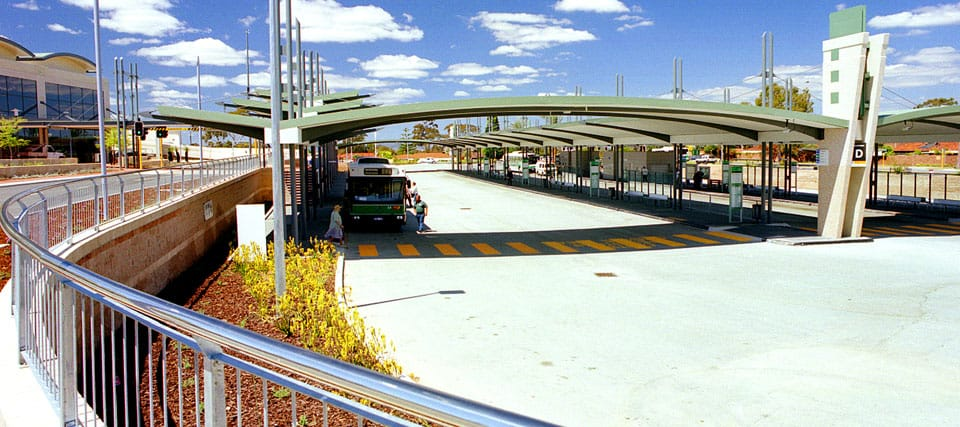 Booragoon Bus Interchange, Booragoon, Western Australia - A Public & Culture project for Department of Transport by Hames Sharley
