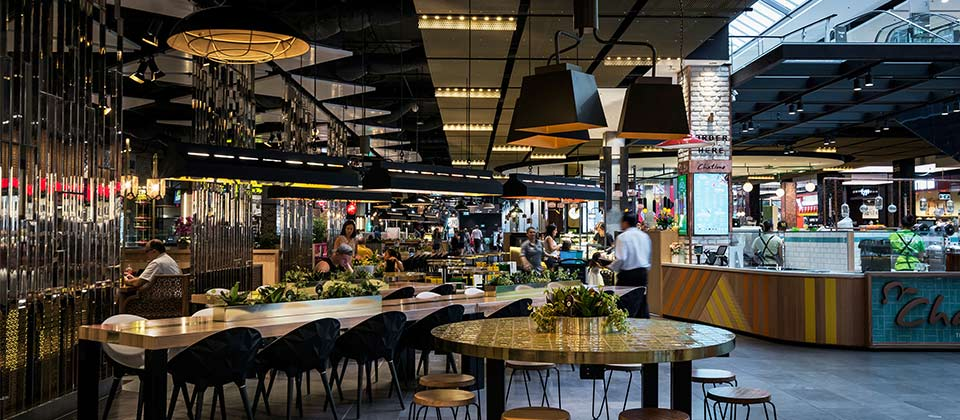 Broadway Level 2; Food and Fashion Fusion precinct, Sydney, New South Wales - A Retail & Town Centres project for Mirvac by Hames Sharley