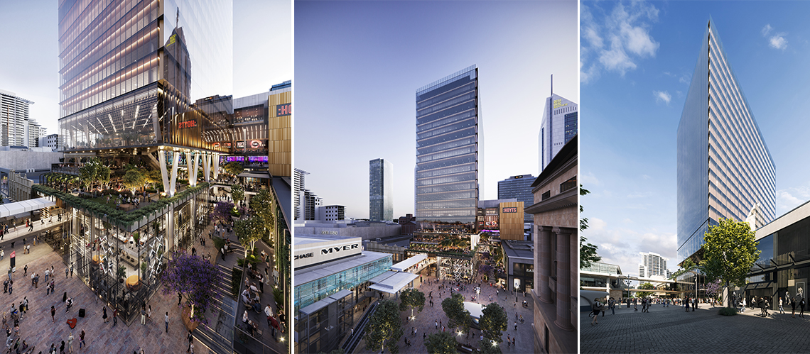 Carillon City Redevelopment, Perth CBD, Western Australia - A Retail & Town Centres project for Dexus by Hames Sharley