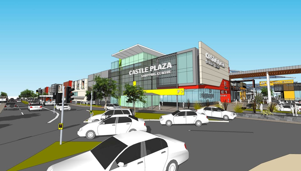 Castle Plaza Shopping Centre, Edwardstown, South Australia  - A Retail & Town Centres project for Colonial First State  by Hames Sharley