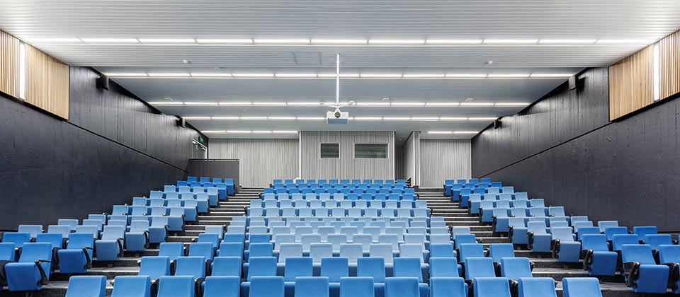 ECU Mt Lawley Lecture Theatre 3.201, Mount Lawley, Western Australia - A Workplace project for Edith Cowan University by Hames Sharley