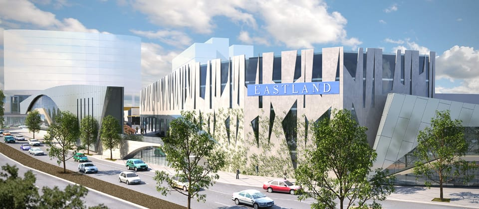 Eastland Shopping Centre, Eastland, Victoria - A Retail & Town Centres project for QIC by Hames Sharley