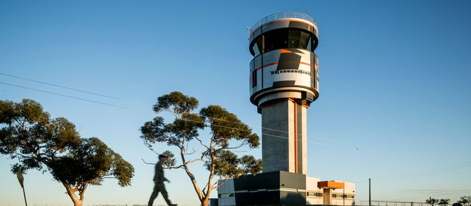 RAAF Base Edinburgh Air Traffic Control Tower, Edinburgh, South Australia - A Defence project for Department of Defence by Hames Sharley