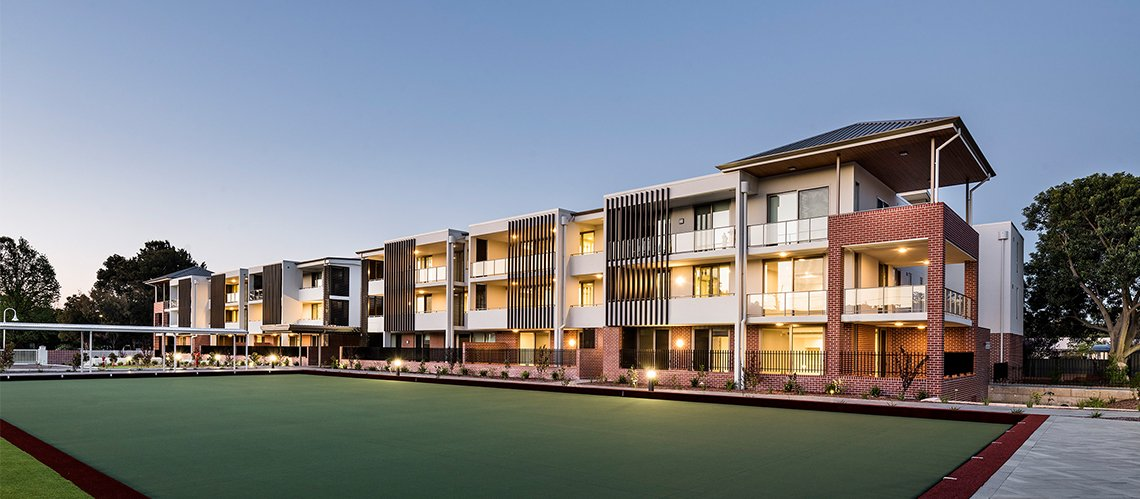 Elimatta Retirement Village, Perth, Western Australia - A Residential project for Juniper by Hames Sharley
