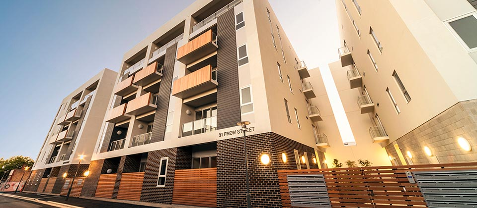 Ergo Apartments, Adelaide CBD, SA - A Residential project for Hindmarsh Property & Adelaide City Council by Hames Sharley