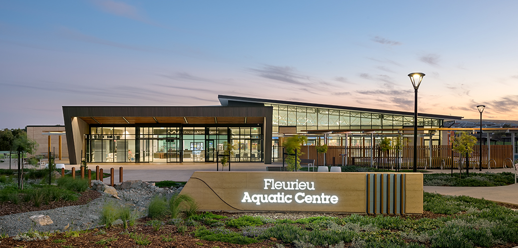 Fleurieu Regional Aquatic Centre, Victor Harbor, South Australia - A Sport & Recreation project for City of Victor and Alexandria Council by Hames Sharley