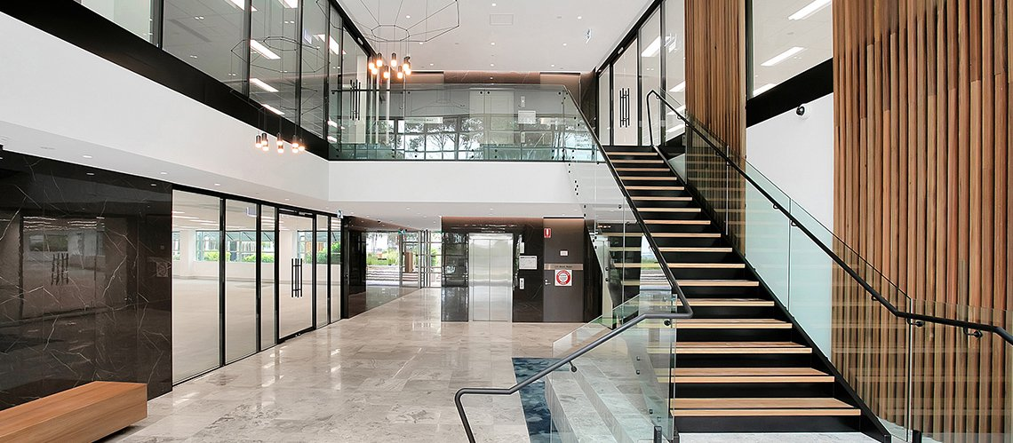 Figtree Drive Refurbishment, Sydney Olympic Park, New South Wales - A Office & Industrial project for Kador by Hames Sharley