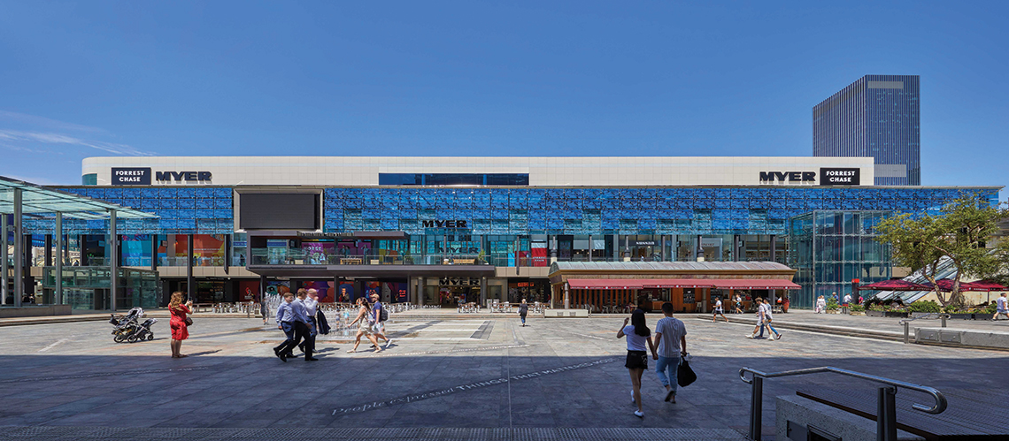Forrest Chase Redevelopment, Perth, Western Australia - A Retail & Town Centres project for ISPT by Hames Sharley