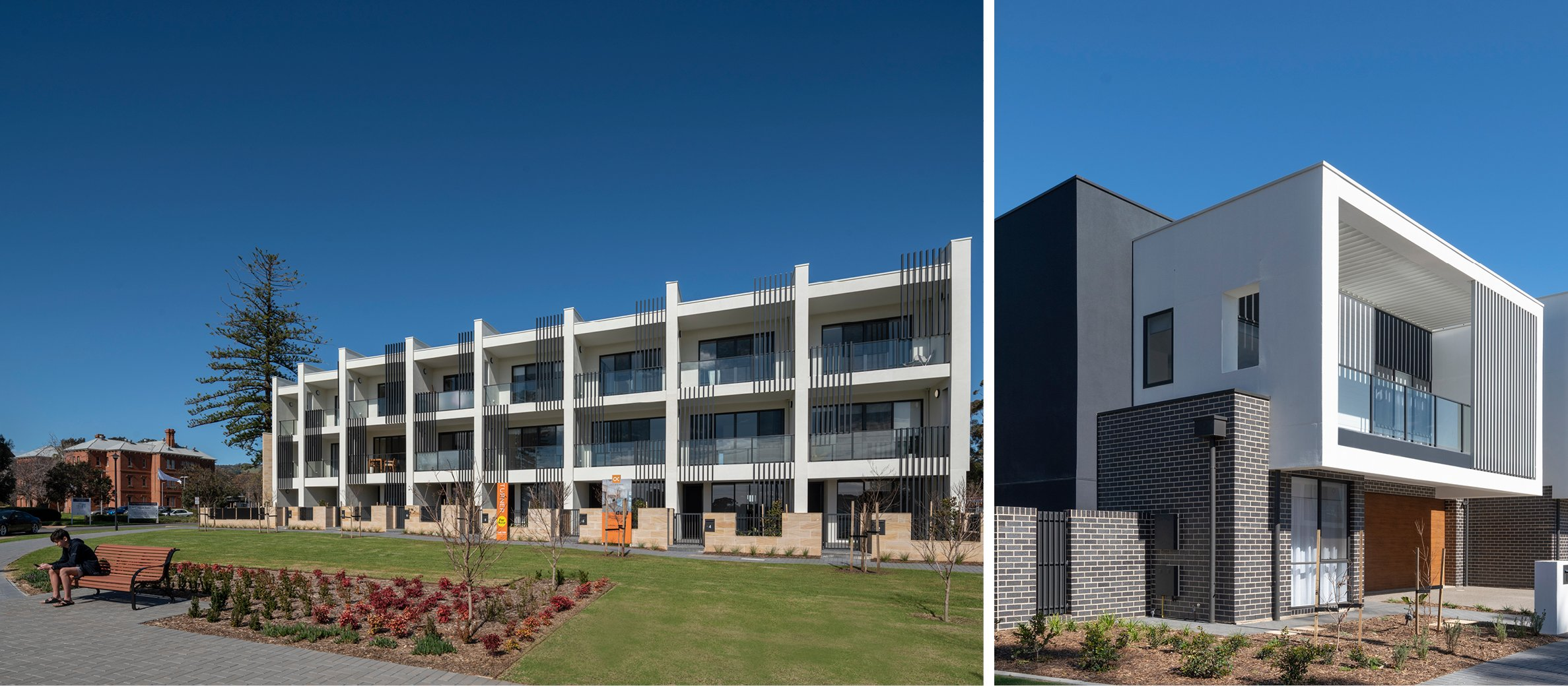 | Glenside Development, Glenside, South Australia - A Urban Development project for Cedar Woods by Hames Sharley