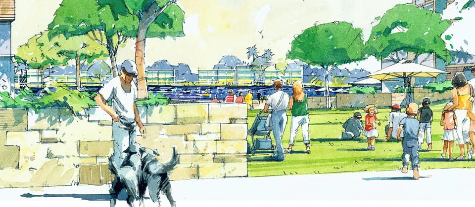 Greenway Precinct Master Plan, Tuggeranong, Australian Capital Territory - A Residential project for Land Development Authority by Hames Sharley