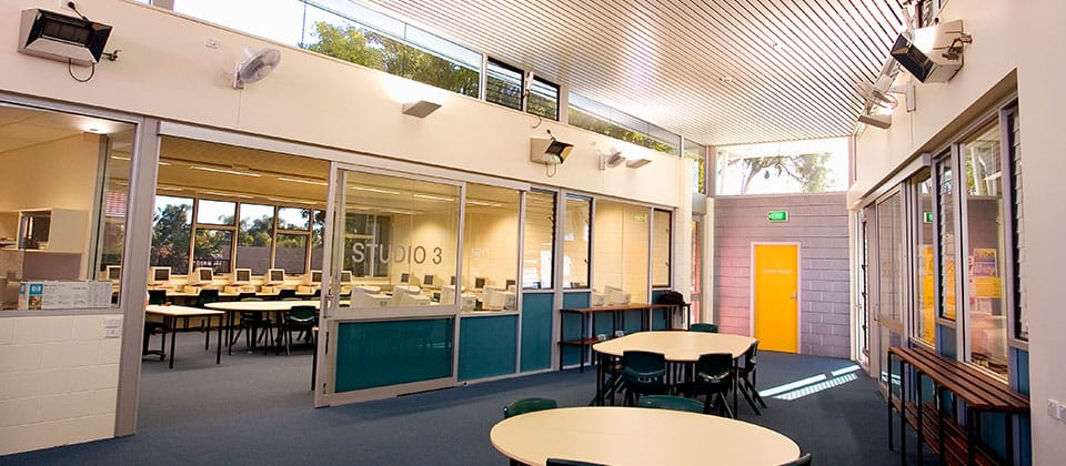 Hampton Senior High School, Morley, Western Australia - A Education, Science & Research project for Building Management and Works by Hames Sharley