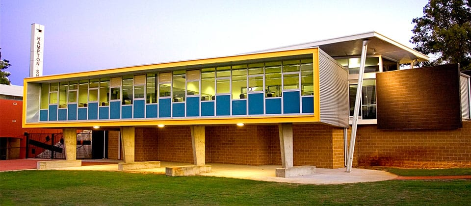 Hampton Senior High School, Morley, Western Australia - A Tertiary Education, Science & Research project for Building Management and Works by Hames Sharley