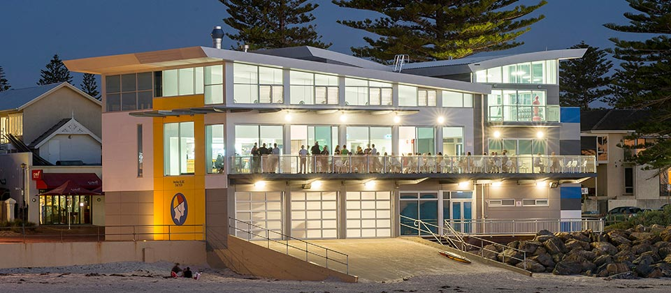 Henley Surf Life Saving Club, Henley Beach, South Australia - A Sport & Recreation project for Henley Surf Life Saving Club by Hames Sharley