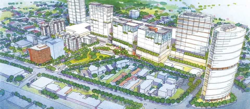 Indooroopilly Development Framework, Brisbane, Queensland - A Urban Development project for Eureka Funds Management by Hames Sharley