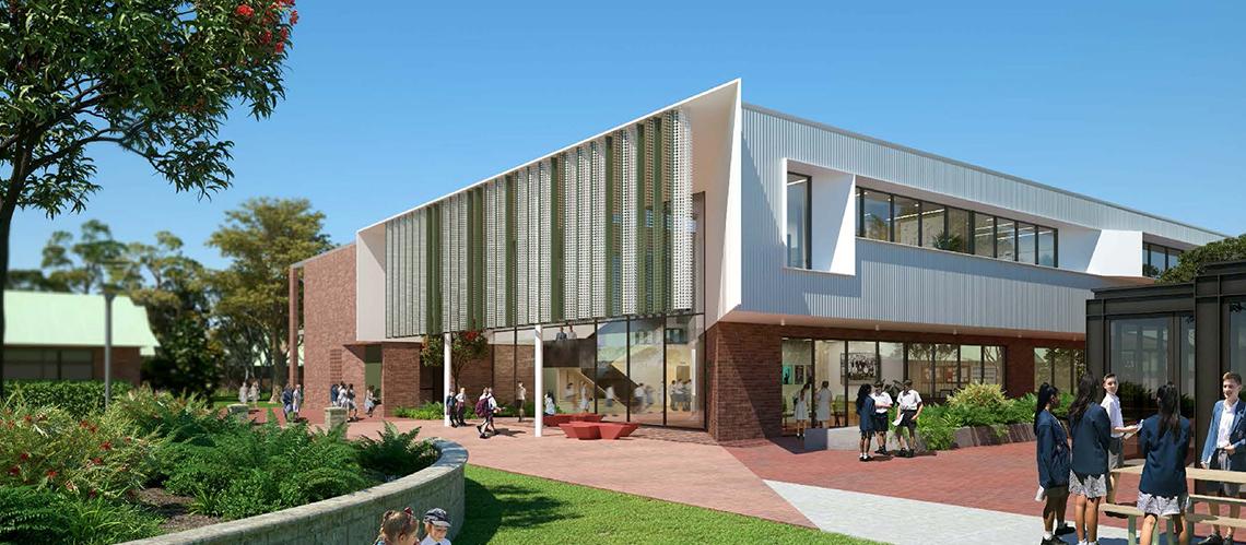 John Septimus Roe Anglican Community School, Perth, Western Australia  - A Education, Science & Research project for John Septimus Roe Anglican Community School by Hames Sharley
