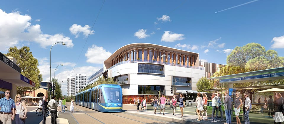 MAX Light Rail, Perth Metropolitan Area (with northern and city focus for Light Rail) - A Urban Development project for Department of Transport, WA Government Perth by Hames Sharley