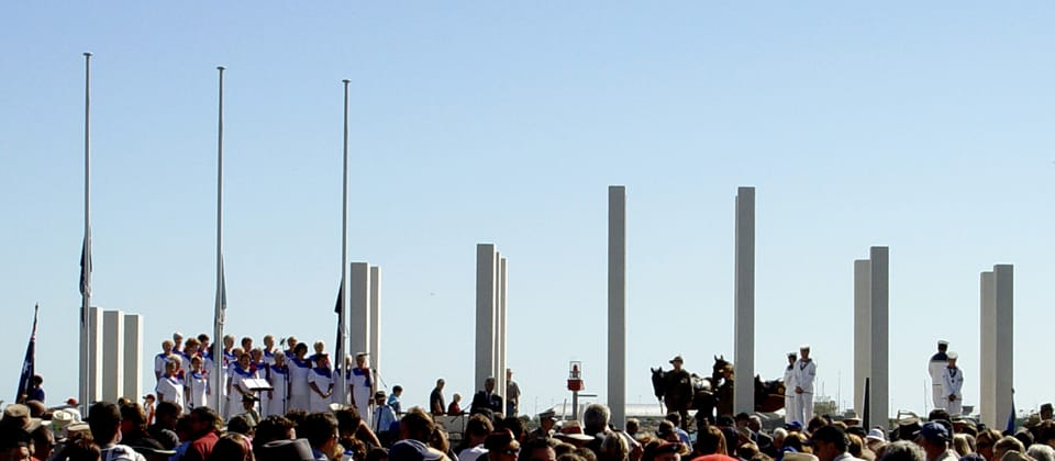Mandurah War Memorial, Mandurah, Western Australia - A Public & Culture project for City of Mandurah  by Hames Sharley
