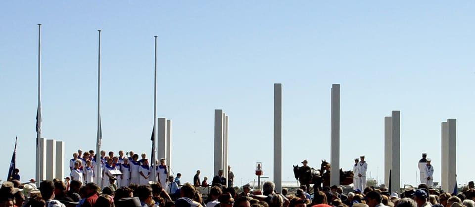 Mandurah War Memorial, Mandurah, Western Australia - A Public & Culture project for City of Mandurah  by Hames Sharley