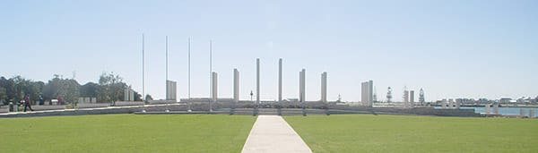 The Mandurah War Memorial in Western Australia