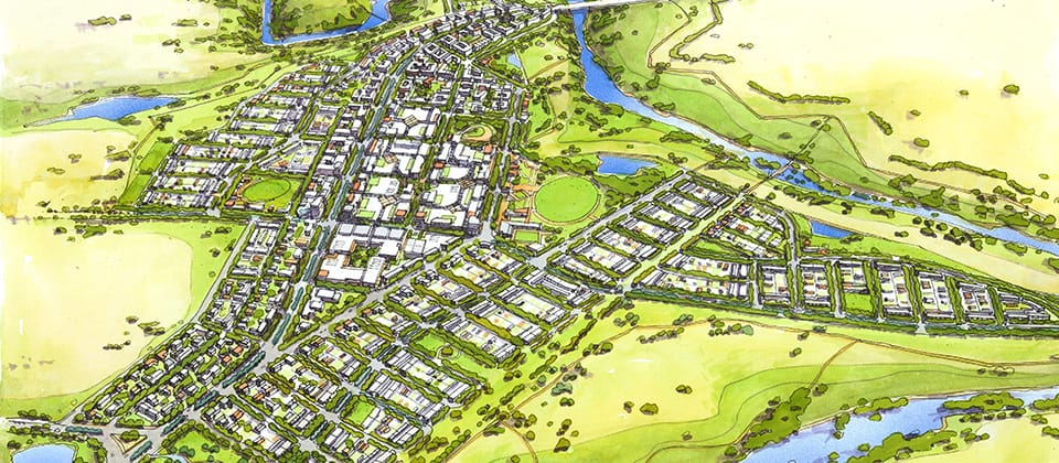 Molonglo Valley Stage 2, Canberra, Australian Capital Territory - A Urban Development project for Environment and Sustainable Development Directorate (ESDD), ACT Government by Hames Sharley