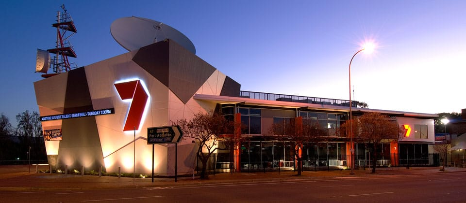 Network Seven Studios, Hindmarsh, South Australia - A Workplace project for Channel 7 and GIC by Hames Sharley