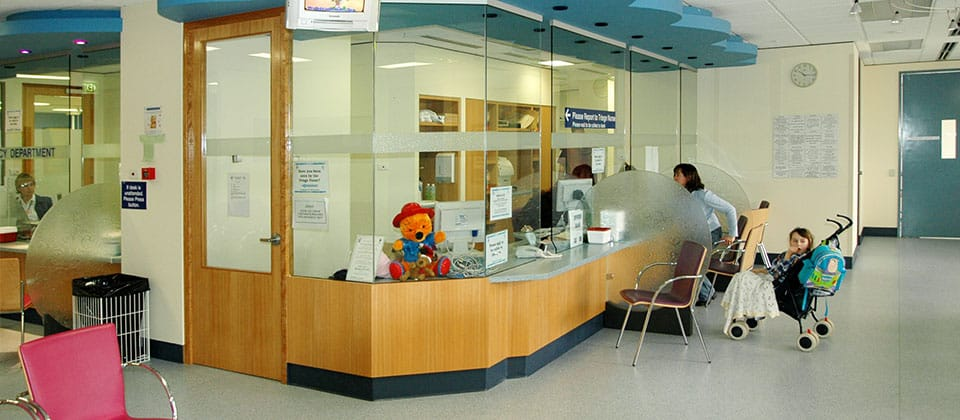 Princess Margaret Hospital Entry and Emergency Upgrade, Subiaco, Western Australia - A Health project for WA Department of Housing and Works and Princess Margaret Hospital for Children by Hames Sharley