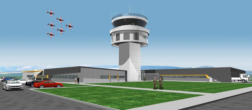RAAF East Sale Air Traffic Control Tower, East Sale, South Australia - A Defence project for Department of Defence by Hames Sharley
