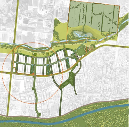 Hames Sharley Urban Development: Rasmussen, Queensland