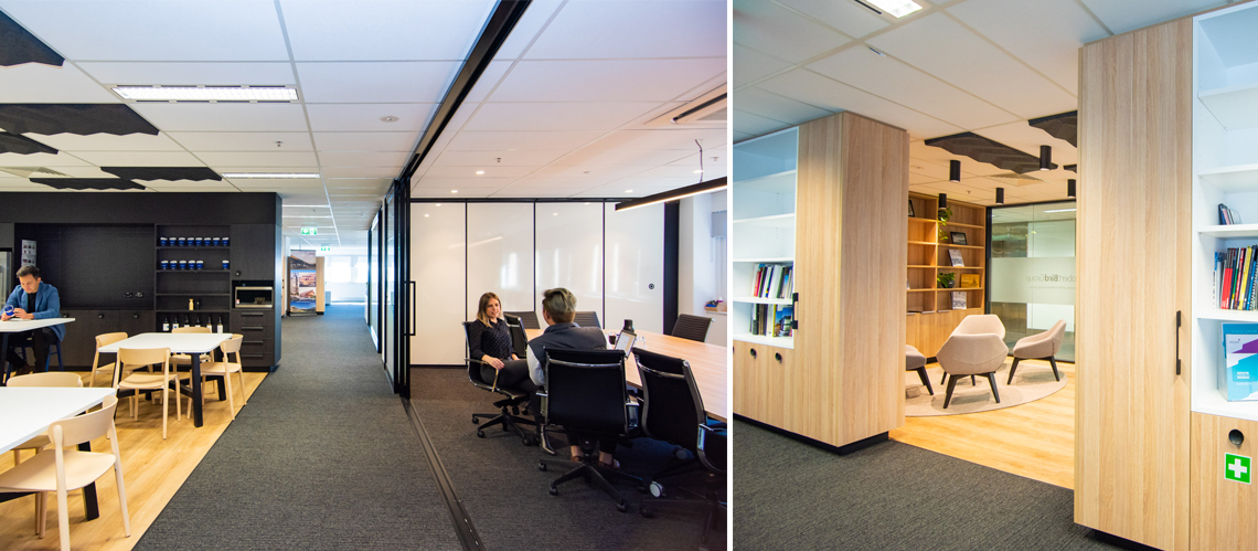 | Robert Bird Group Office Fitout, Adelaide, South Australia - A Office & Industrial project for Robert Bird Group by Hames Sharley