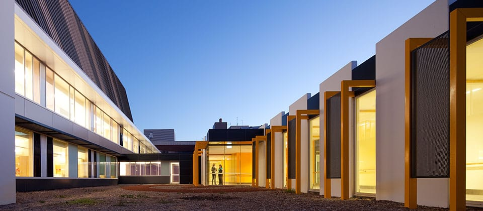 Rockingham General Hospital, Rockingham, Western Australia - A Health project for Department of Health Western Australia and South Metropolitan Area Health Service by Hames Sharley