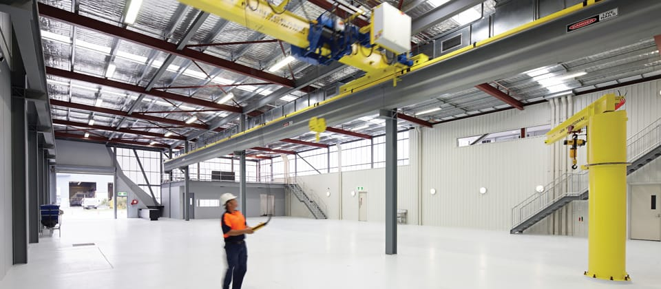 SEW Eurodrive Office and Warehouse WA, Welshpool, Western Australia - A Office & Industrial project for SEW Eurodrive by Hames Sharley