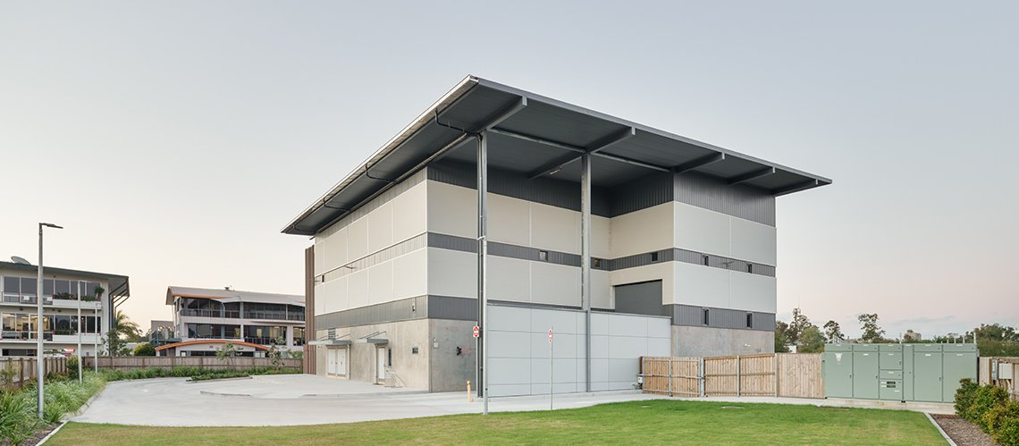 SunCentral Automated Waste Collection System (AWCS), Maroochydore, Queensland  - A Office & Industrial project for Sunshine Coast Council  by Hames Sharley