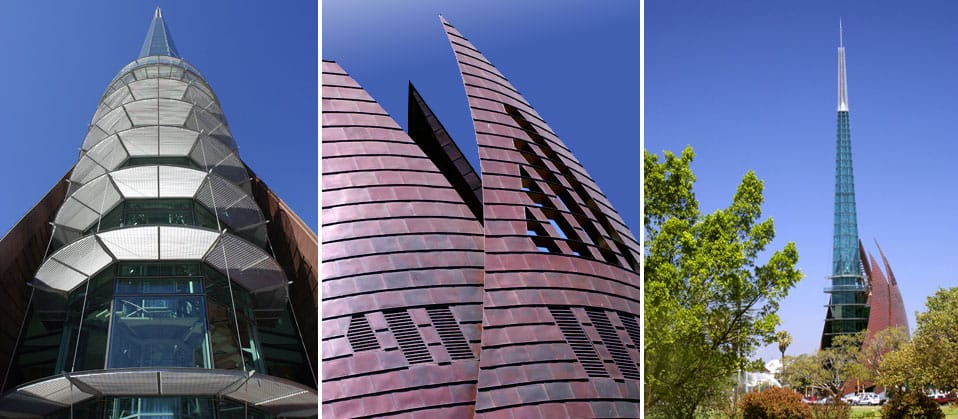 Swan Bells Tower, Perth, Western Australia - A Public & Culture project for Building Management and Works by Hames Sharley