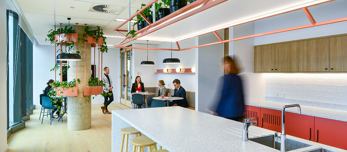 Finlaysons Lawyers, Adelaide, South Australia - A Workplace project for Finlaysons Lawyers by Hames Sharley