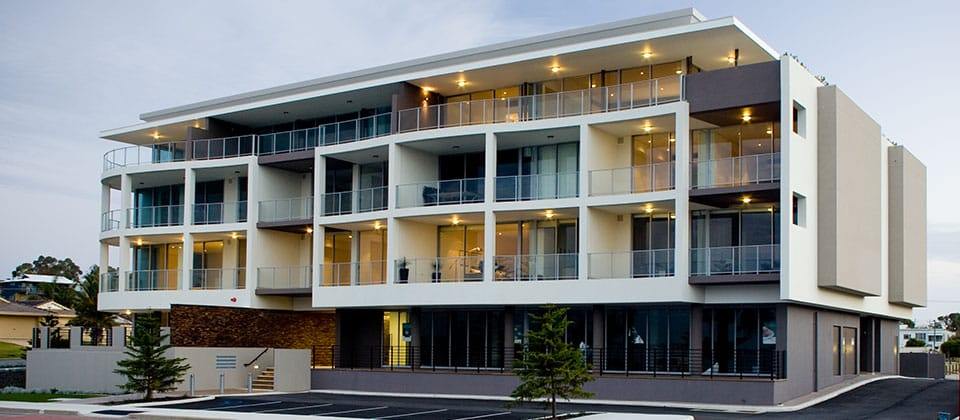 Waterline Apartments, Halls Head, Western Australia - A Residential project for Cedar Woods Properties Ltd by Hames Sharley